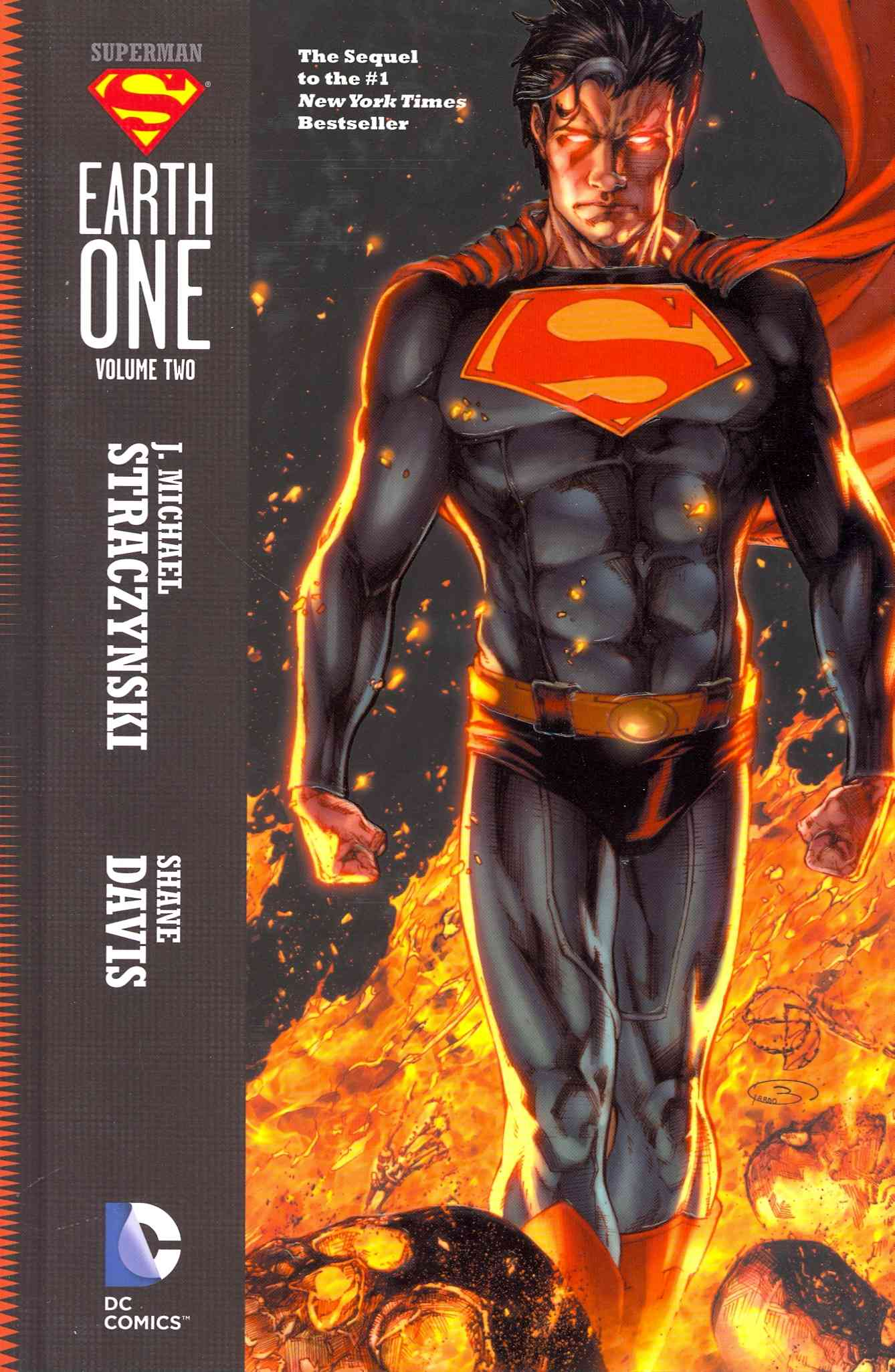 Superman: Earth One 2 By Straczynski, J. Michael/ Davis, Shane (ILT)